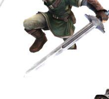 Link, Zelda, and Ganondorf Sticker