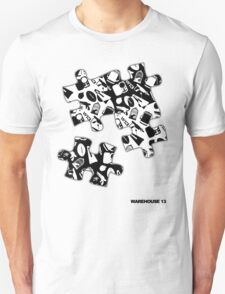 Warehouse 13 Items Puzzle T-Shirt