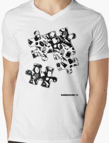 Warehouse 13 Items Puzzle Mens V-Neck T-Shirt