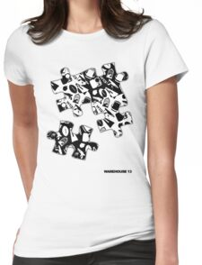 Warehouse 13 Items Puzzle Womens Fitted T-Shirt