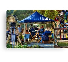 Television Production Canvas Print