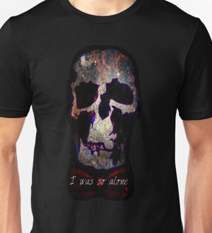 Wholock Skull *SPACE* Unisex T-Shirt