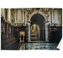 Sacristry Monte Cassino 19840319 0034  Poster