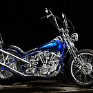 Harley-Davidson Panhead Chopper from The Wild Angels by Frank Kletschkus