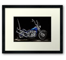 Harley-Davidson Panhead Chopper from The Wild Angels Framed Print