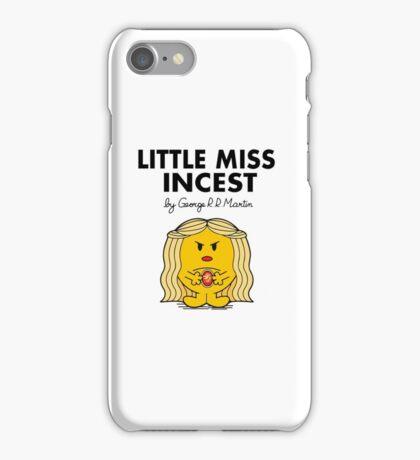 Little Miss Incest iPhone Case/Skin