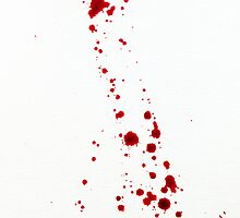Blood Spatter Cast Off by jenbarker