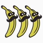 Banana Mustache Gentlemans by Style-O-Mat