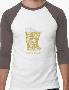 MN Drink Local Men's Baseball ¾ T-Shirt