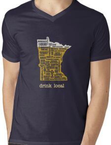 MN Drink Local Mens V-Neck T-Shirt