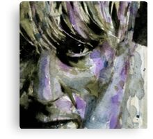 Wide Eyed Boy From Freecloud Canvas Print