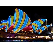 Sydney's Vivid Festival 2013 I Photographic Print
