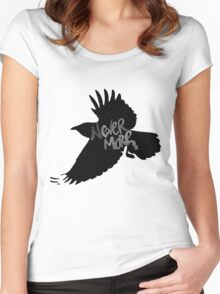 Edgar Allan Poe The Raven Women's Fitted Scoop T-Shirt