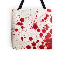 Blood Spatter 2 Tote Bag