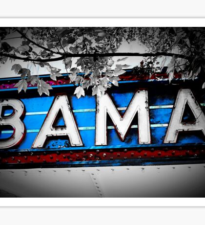 Bama Theater Sticker