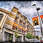 The streets of Mérida, Spain by Wendy  Rauw
