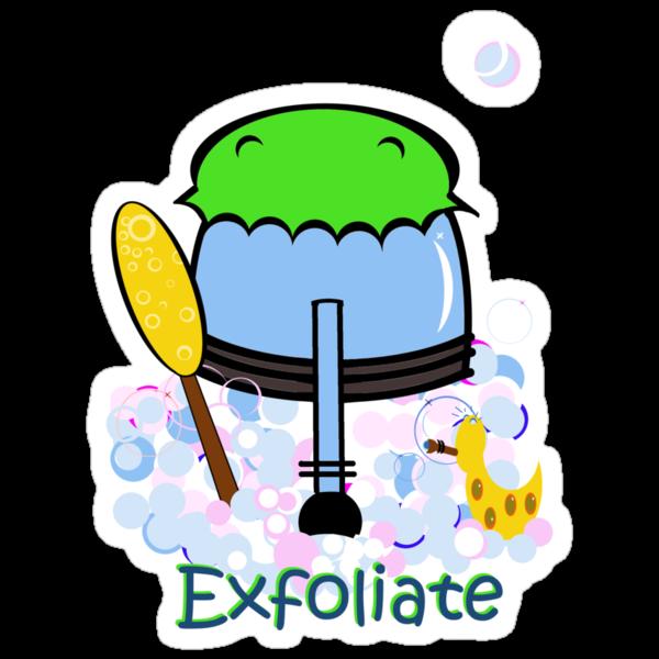 Exfoliate by Anne van Alkemade