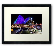 Sydney's Vivid Festival, 2013 VI Framed Print