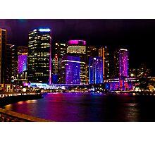 Sydney's Vivid Festival, 2013 V Photographic Print