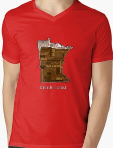 Drink Local (MN) Mens V-Neck T-Shirt