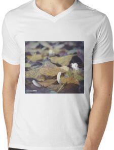 Walking on fallen leaves- Wandering forest 5 Mens V-Neck T-Shirt
