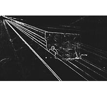 BLACK Electronic Underground #11 Photographic Print