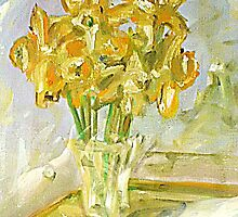 Daffs by Sue Anderson