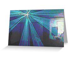 BLACK Electronic Underground #12 Greeting Card
