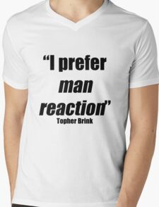 Man reaction Mens V-Neck T-Shirt