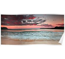 Boat Harbour sunset 15.6.13 Poster