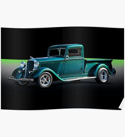 1934 Dodge Pick-Up Truck II Poster