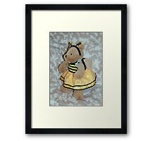 Bumble Bee Teddy Framed Print