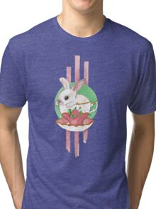 Tea - Baby bunny in a teacup! Tri-blend T-Shirt