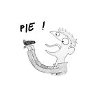 Dean likes Pie iPhone (white) by slothqueen