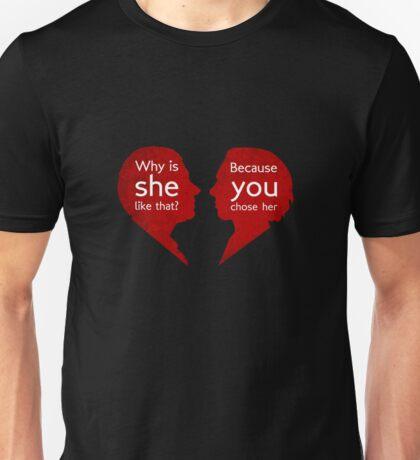 John and Mary - Sherlock Unisex T-Shirt