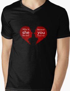 John and Mary - Sherlock Mens V-Neck T-Shirt