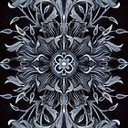 - Black ornament - by Losenko  Mila
