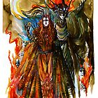 Annatar & Morgoth by Mairon