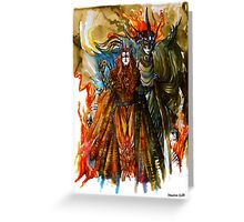 Annatar & Morgoth Greeting Card