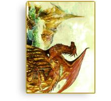Smaug Canvas Print