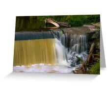 Grafton Dam and Waterfall Greeting Card