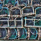 Lobster Pots - Robin Hoods Bay by © Steve H Clark
