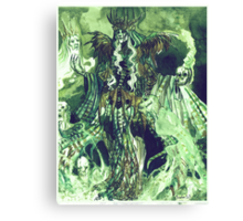 The necromancer Canvas Print