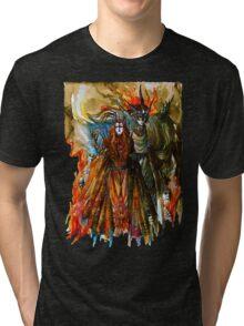 Annatar & Morgoth Tri-blend T-Shirt