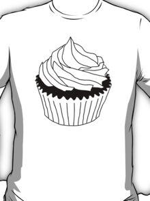 black and white cupcake T-Shirt