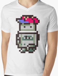 Robo - Ness Mens V-Neck T-Shirt
