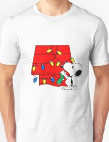 Snoopy Christmas Decorations T-Shirt
