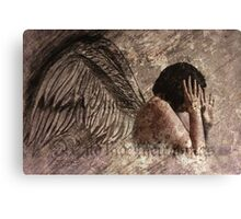 When We Dance Angels Will Run And Hide Their Wings #1 Canvas Print