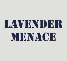 Lavender Menace ( to benefit IYG) by electrasteph