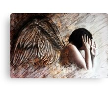 When We Dance Angels Will Run And Hide Their Wings #2 Canvas Print